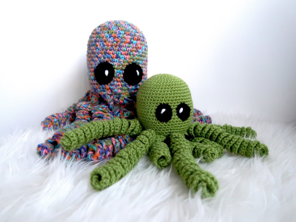 Easy Amigurumi Octopus : Allsocute amigurumis amigurumi octopus pattern crocheted octopus
