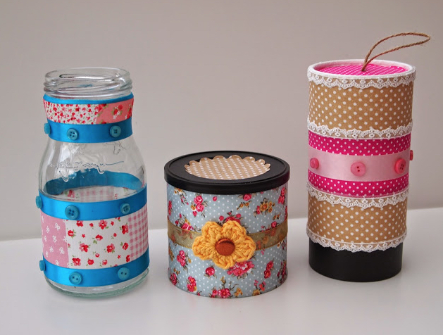 How to make up-cycled jars