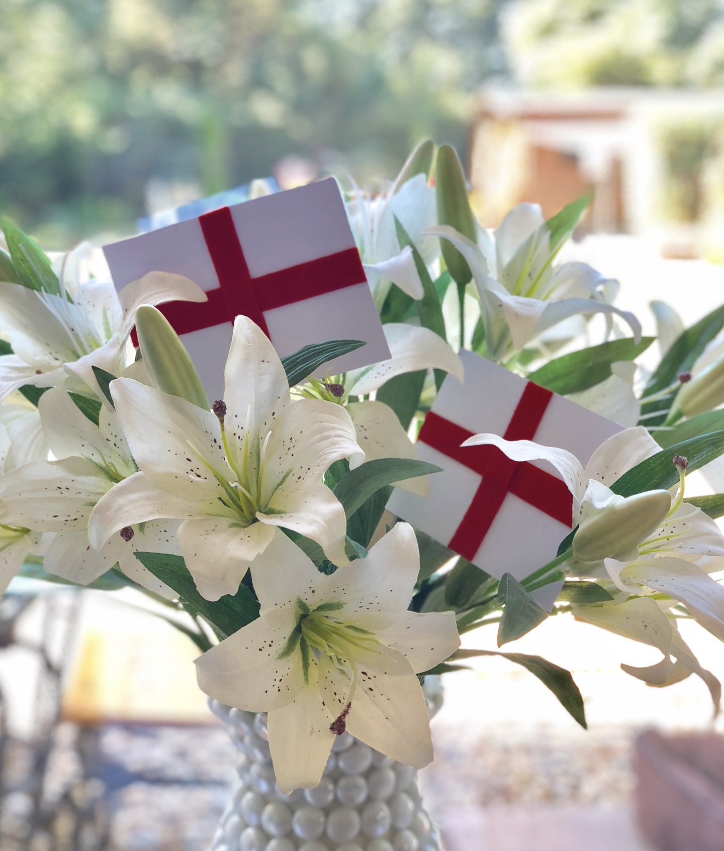 Quick and easy England Bunting
