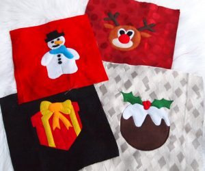 Christmas Applique Panels