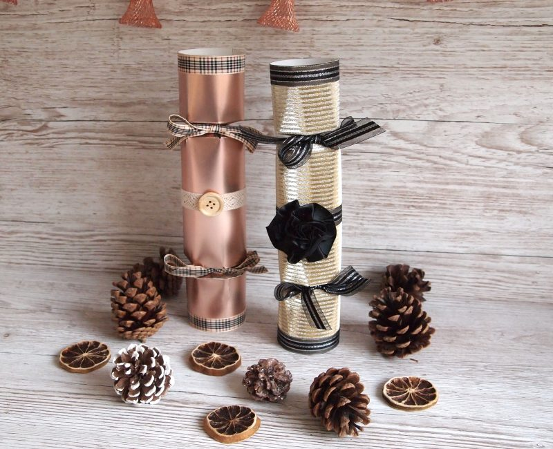 Let's go Crackers! A step-by-step guide on making your own Christmas Crackers