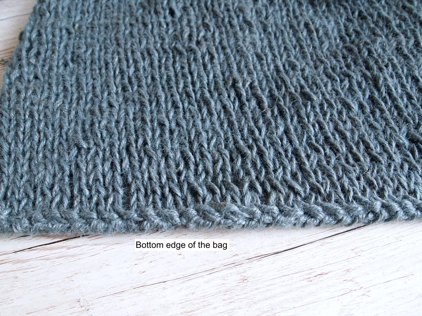 sewing in ends in knitting