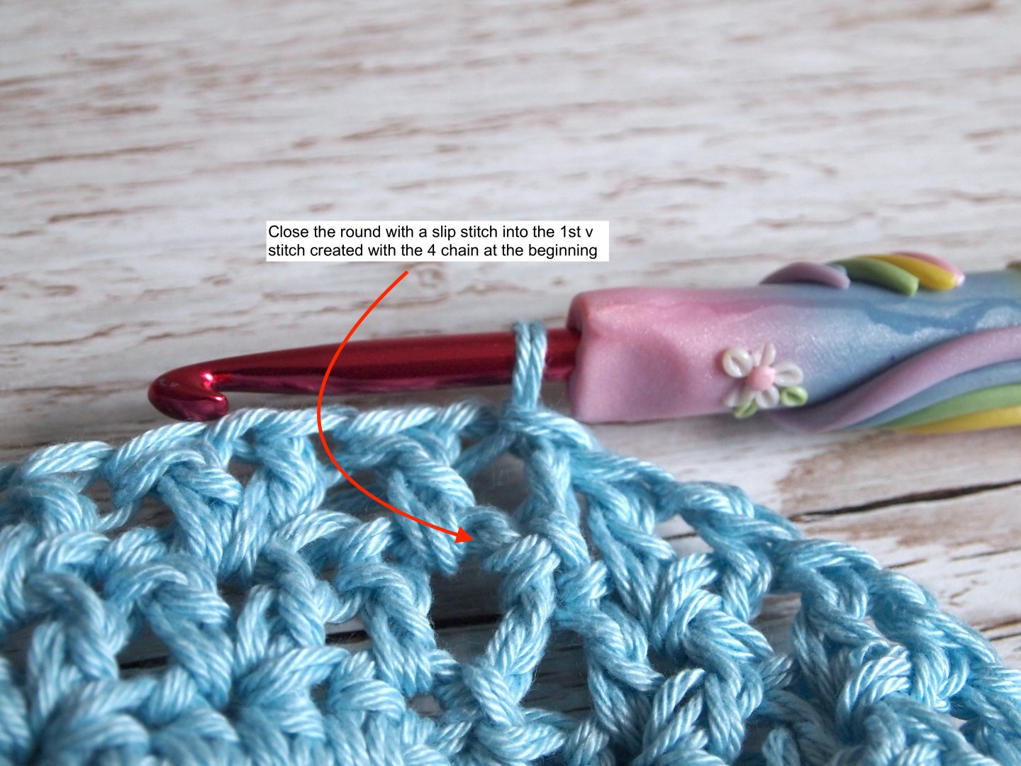 wash bag for crochet face pad tutorial