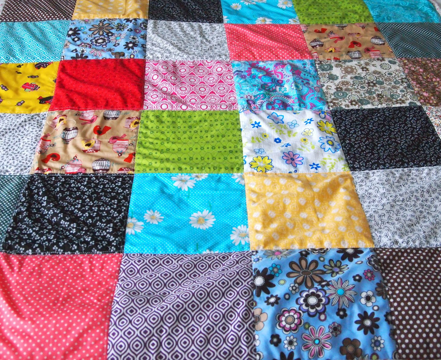 Patchwork Carehome Cover