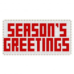 seasons greetings c2c chart